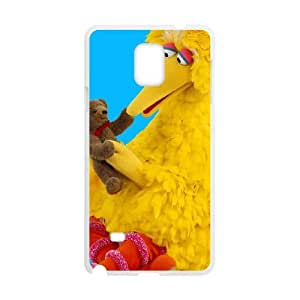 Big Bird Samsung Galaxy Note 4 Cell Phone Case White idjs