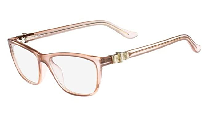 4114784f27 Image Unavailable. Image not available for. Color  Salvatore Ferragamo SF  2728 643 53mm Antique Rose Eyeglasses