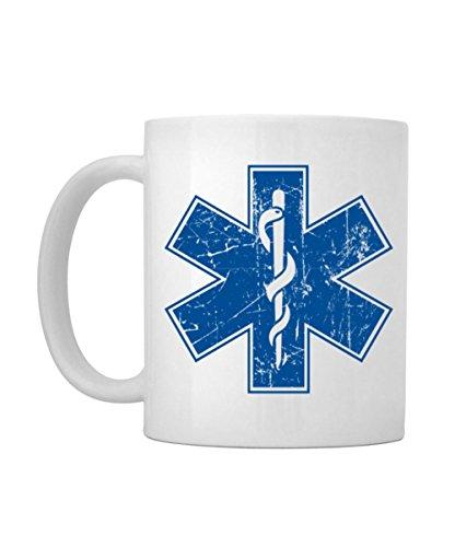 Idakoos - EMS Star of life Paramedic - Urbans - Mug (Paramedic Coffee Mug)