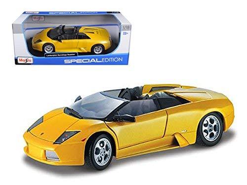 Toys Diecast Maisto Special Edition 1:18 Murcielago Roadster Yellow 31636 ()