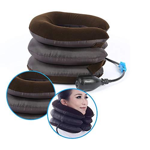 Enshey Inflatable Neck Traction Pillow Blow Up Cervical Vertebra Tractor Traction Massage Neck Back Shoulder Pain by Enshey (Image #7)
