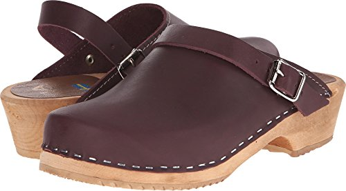 MIA Women's Alma Mule, Wine, 10 M US