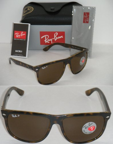 RAY BAN HIGHSTREET 4147 LIGHT HAVANA FRAME BROWN POLARIZED RB 4147 710/57 - Size Rb4147
