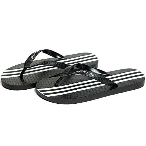C studenti 39 in Maschio di 40 di libero antiscivolo sono nero scarpette marea estate da fankou sandali bianco fresche e le Tempo personalità spiaggia gUYpqUw