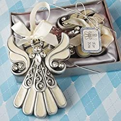 Shimmering Angel Ornaments: Communion and Christening Party Favors, 40