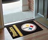 """Team Fan Gear Fanmats Pittsburgh Steelers Starter Rug 20""""x30"""" NFL-8233"""