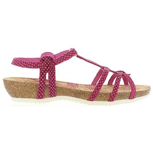 Sandalias de Mujer PANAMA JACK DORI RUN B3 NAPA FUCSIA