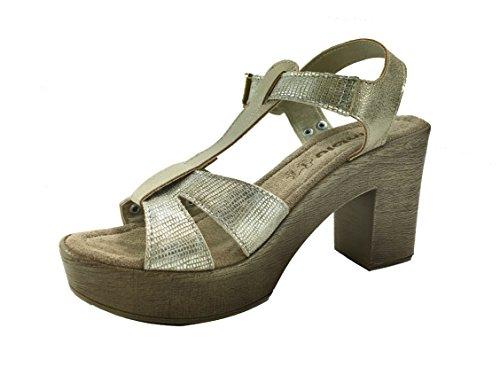 Inblu pour Sandales pour Femme Femme Sandales Inblu Platine Sandales Inblu Inblu pour Platine Platine Sandales Femme F8awBw