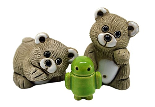 Rinconada 2017 Collection, 2 mini BEAR CUB with droid 2.0¨H, #AR808A