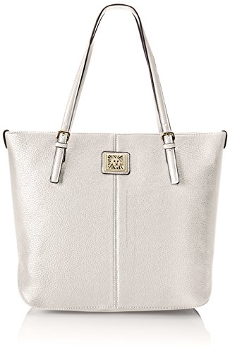 Anne Klein Perfect Tote Large Shoulder Bag Magnolia One Size