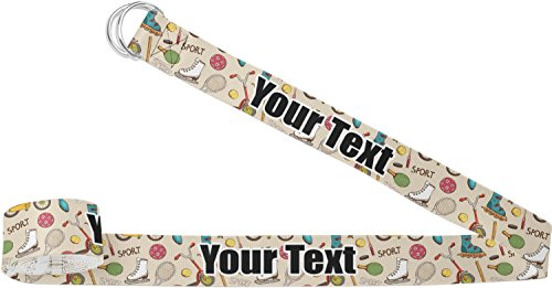 RNK Shops Vintage Sports Yoga Strap (Personalized) by RNK Shops