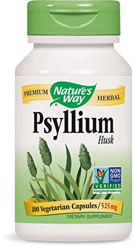 Nature's Way Psyllium Husks Herbal Laxative VCaps 100ea