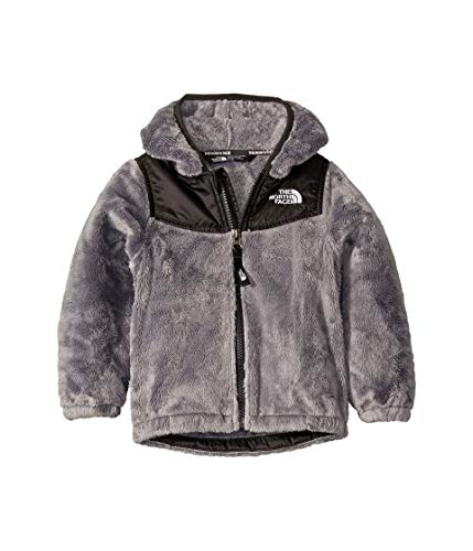 The North Face Kids Baby Girl's OSO Hoodie (Toddler) Meld Grey 4T (Childrens North Face Coat)