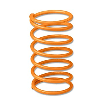 35mm/38mm Mild Steel 6psi External Wastegate Spring (Yellow Coated) Auto Dynasty