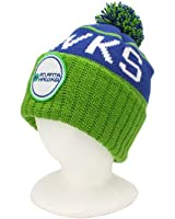 Mitchell & Ness Team Colors Cuffed Knit Pom Hat