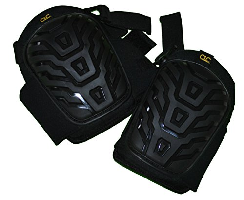 Custom Leathercraft 345 Professional Kneepads with Breathable Neoprene Straps and  Over Sized Caps for More Coverage