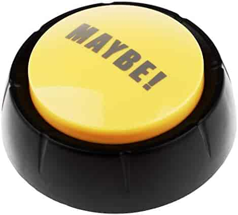 Board Games FLAMEER Dome Shaped Answer Buzzer Alarm Button