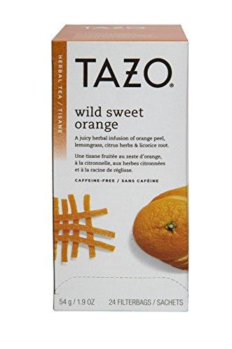 ge Filter Bag Tea, 24-Count Packages (Pack of 6) (Tazo Orange Tea)