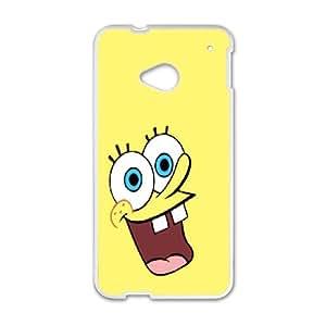 DIY Phone Cover Custom SpongeBob Squarepants For HTC One M7 NQ3642346