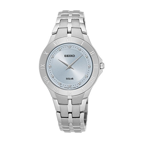 Seiko Women's 'Recraft Series' Quartz Stainless Steel Dress Watch (Model: SUP307)
