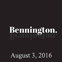 Bennington, Monroe Martin, August 3, 2016