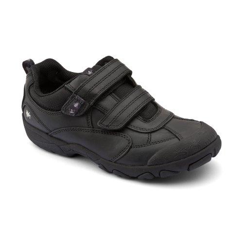 Start-rite garçons Arachnid Noir Chaussures bébé en cuir G - Noir - cuir noir, 27 EU