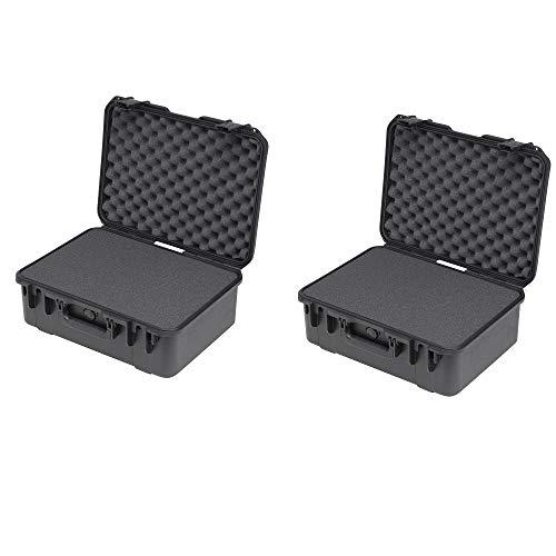 pec Waterproof Cubed Foam Utility Equipment Case (2 Pack) ()