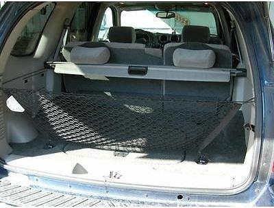 Envelope Style Trunk Cargo Net for GMC Envoy Chevrolet Trailblazer Buick Rainier Saab 9-7x Oldsmobile Bravada (Gmc Envoy Cargo)