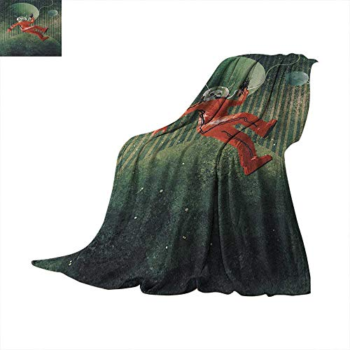 Fantasy Weave Pattern Extra Long Blanket Sinister Alien for sale  Delivered anywhere in Canada
