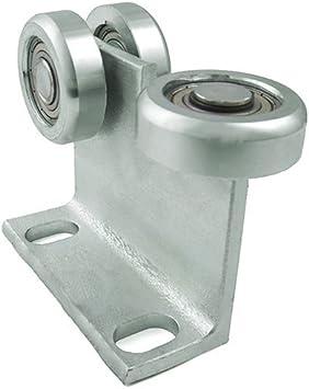 zabi puertas correderas (rollo carro con 3 ruedas de metal y ángulo de hierro para perfiles 70 x 70 grosor 4 mm: Amazon.es: Bricolaje y herramientas