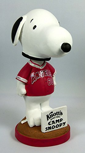 2010 Limited-Edition Knott's Snoopy Baseball Bobblehead - Calif. Angels