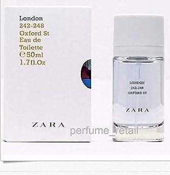 Amazoncom Zara London Oxford St Eau De Toilette Fragrance For