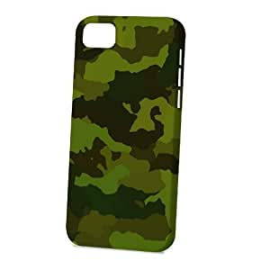 Case FunDiy For SamSung Galaxy S4 Case Cover Vogue Version - 3D Full Wrap - Dark Green Camouflage