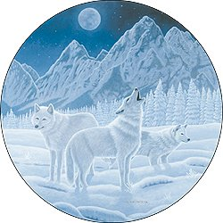 wolf jeep wheel cover - 6