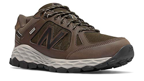 Shoe Brown Balance Walking Chocolate 1350 Grey New 8 Men's qnaF4w00EU