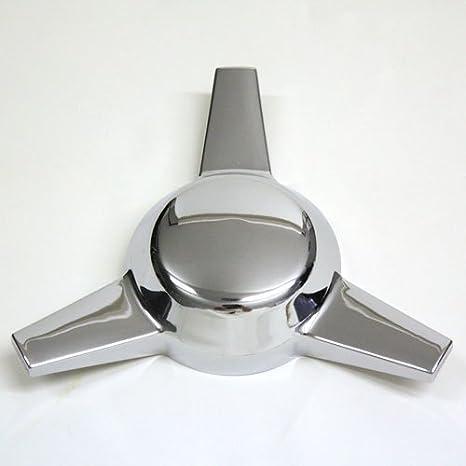 3 Bar cromado plástico Knock Offs Classic Universal Spinner nuevo conjunto de 4: Amazon.es: Coche y moto