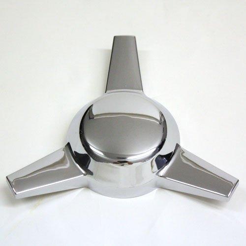 - 3 Bar Chrome Plastic Knock Offs Classic Universal Spinner New Set of 4