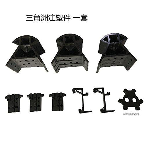 Heasen Funssor DIY Delta Kossel 3D impresora ABS inyección ...