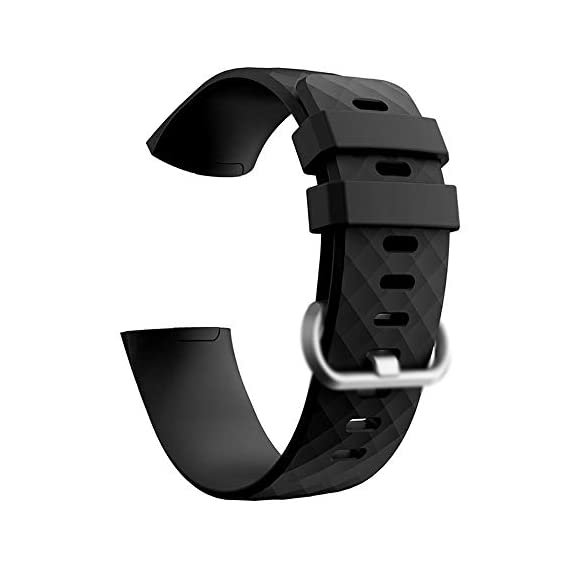 Cellfather Bands Compatible with Fitbit Charge 4/3, Waterproof Watch Strap Fitness Sport Band Wristband for Fitbit