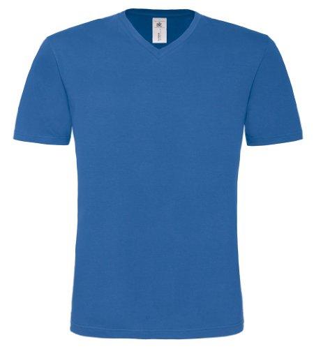 B&C - Camiseta - Manga corta - para hombre Azul Real