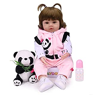 Kaydora Reborn Baby Doll,Lifelike Reborn Toddler Girl,18 inch Weighted Baby Doll