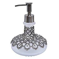Soap Dispenser with Rust Proof Pump With Rhinestone