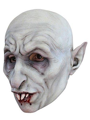 Nosferatu the Vampire Latex Halloween Horror Head Mask by CC