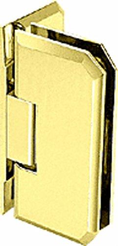 C.R. LAURENCE M0N044BR CRL Brass Monaco 044 Series Wall Mount Offset Back Plate Hinge ()