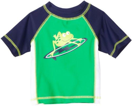 Little Me Baby Boys' Frog Rashguard Tee