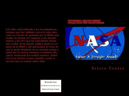 Descargar Libro Astronautas Y Del Investigador Rompen Nasa Ovni Encubrimiento Sergio Correa