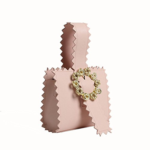 Blanc fourre Cuir Sac Tout Vintage pour en bandoulière Jxth Rose Cadeaux Femme Vintage Top Couleur à Satchel Handle wanRAX