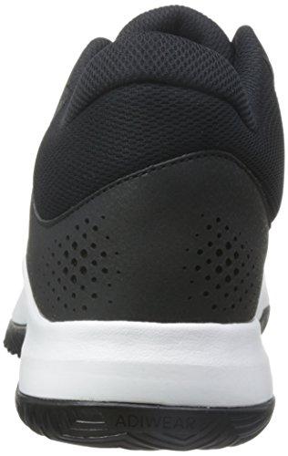 Adidas Domstol Raseri 2017 - By4188 Hvid-sort-grå Q8dyb