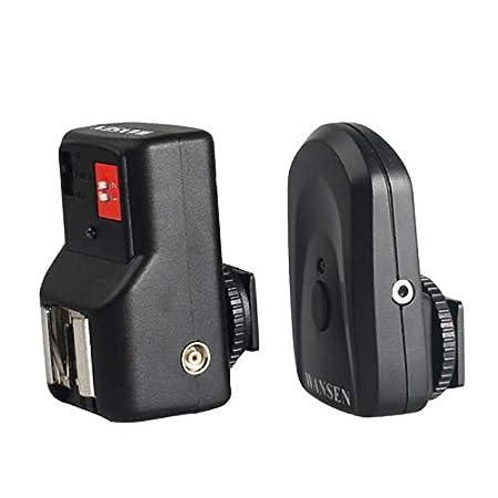 ALIKEEY Zubehör 4 Kanäle Wireless Remote Speedlite Flash Trigger für Canon Nikon PT-04GY