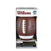 Wilson NCAA Supreme Junior Football with Pump & Tee